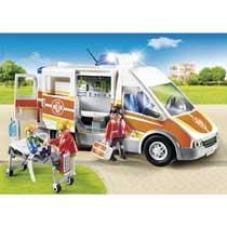 - PLAYMOBIL City Life Ziekenwagen met licht en geluid 6685