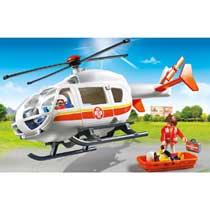 - PLAYMOBIL City Life Traumahelikopter 6686