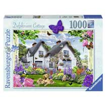 Ravensburger puzzel Delphinium Cottage - 1000 stukjes