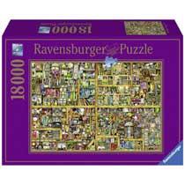 Ravensburger Colin Thompson puzzel Magical bookcase - 18000 stukjes