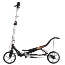 - Space Scooter - zwart