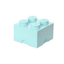 LEGO Design Collection Brick opbergbox 4 - lichtblauw