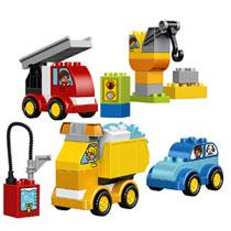 LEGO 10816 DUPLO MIJN 1E WAGENS&TRUCKS