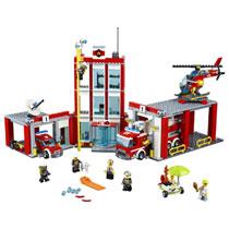 - LEGO City brandweerkazerne 60110
