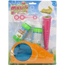 - Magische bellenblaas met handschoenen -