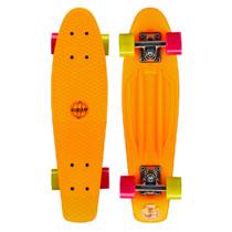 - Nijdam plastic skateboard - 22,5 inch - oranje