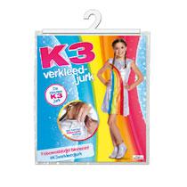 - K3 verkleedjurk regenboog 3-5 jaar - maat 116