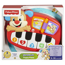 FISHER-PRICE LEERPLEZIER  PUPPY PIANO