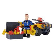 - Brandweerman Sam quad Mercurius met Sam figuur