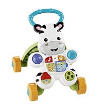 Fisher-Price Loop met mij looptrainer - zebra