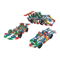 - K'NEX Cars bouwset - 187 onderdelen