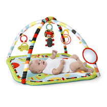 Bright Starts Roaming Safari babygym