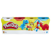 Play-Doh speelklei set 4 potjes