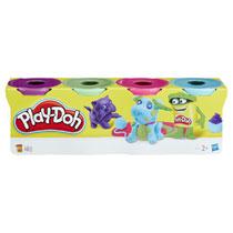 Play-Doh speelklei - 4 potjes
