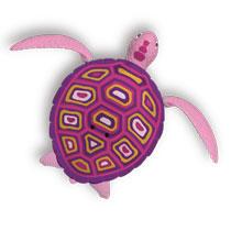 - Robo Turtle - roze