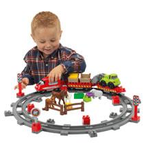 Abrick treinset met dieren - kopen