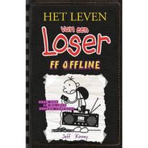 Het leven van een Loser 10: ff offline - Jeff Kinney