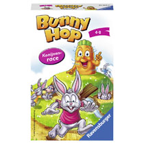 Ravensburger Bunny Hop konijnenrace reisspel