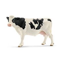 Schleich figuur zwartbont koe 13797