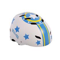 Volare Stars skatehelm - blauw/wit - maat 55 - 57 cm