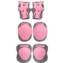 Nijdam beschermset N-protect maat S - roze