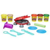 - Play-Doh burger barbecue