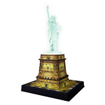 - Ravensburger Statue of Liberty 3D puzzel night edition - 108 stukjes