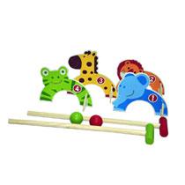 Croquet set - dieren