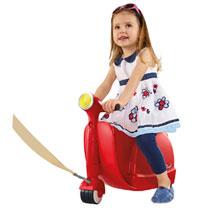 Skoot koffer - Red Racer
