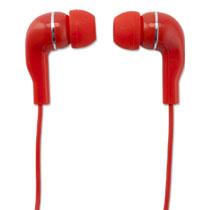 WM EARPHONE RED