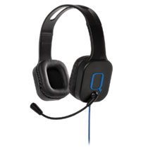 PS4 Qware gaming headset - zwart