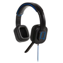 PS4 Qware Pro gaming headset - zwart