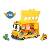 - Silverlit Robocar Poli schoolbus met opslagruimte 14 die-castfiguren