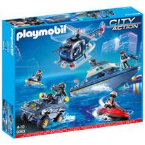 PLAYMOBIL City Action 9043 Mega politieset