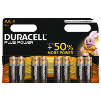 Duracell Plus Power AA alkaline batterijen - 8 stuks