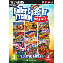 PC RollerCoaster Tycoon Mega Pack