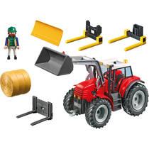 PLAYMOBIL Country grote rode tractor met werktuigen 6867