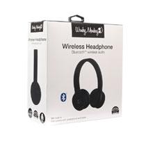 WM BT ON-EAR HEADPHONE + MIC ZWART