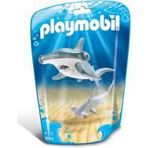 PLAYMOBIL hamerhaai met jong 9065