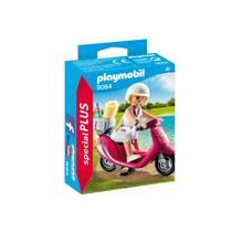 PLAYMOBIL SpecialPLUS zomers meisje met scooter 9084