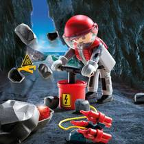 PLAYMOBIL SpecialPLUS explosievenexpert 9092