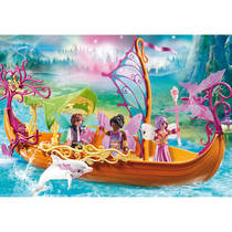 PLAYMOBIL Fairies magische feeënboot 9133