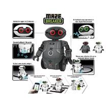 MAZE BREAKER ROBOT BLACK