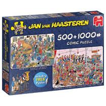 JAN VAN HAASTEREN FEESTJE! 500 &1000 ST