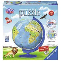 Ravensburger 3D-puzzel kinderglobe XXL - 180 stukjes