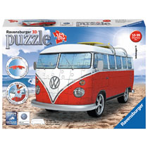 Ravensburger 3D-puzzel VW bus (T1 bully) - 162 stukjes