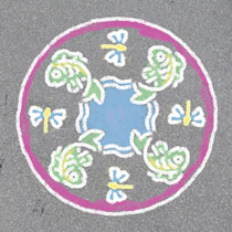 OUTDOOR MANDALA- DESIGNER ROMANTIC GARD