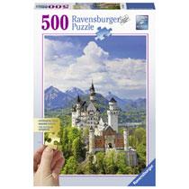 Ravensburger puzzel Sprookjeskasteel Neuschwanstein - 500 stukjes