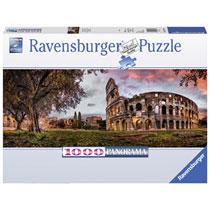 Ravensburger puzzel Colosseum in het avondrood - 1000 stukjes