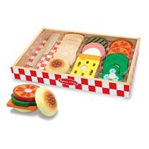 Melissa & Doug houten voedsel sandwich